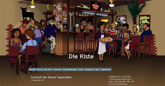 Cocktailbar Die Kiste in Cuxhaven