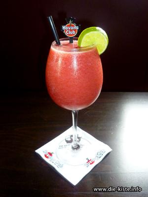 Cocktail des Monats - Strawberry Daiquiri - die Kiste - Cocltails und Tapas in Cuxhaven