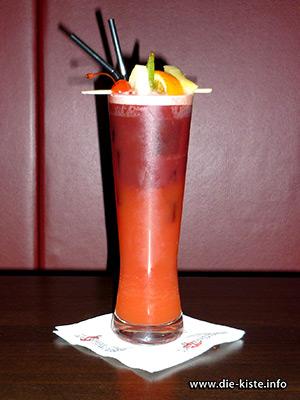 Cocktail des Monats - Drachenblut - Die Kiste Cuxhaven