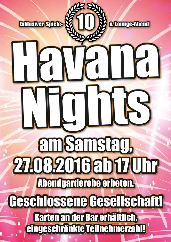 Spiele- und Loungeabend am 27.08.2016 in der Kiste in Cuxhaven