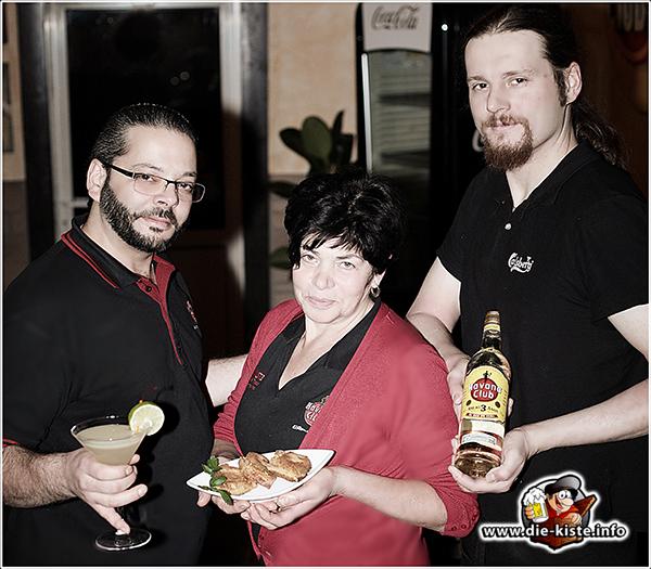 Das Team der Cocktailbar Die Kiste in Cuxhaven