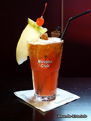Cocktail des Monats - Hot Bartender - die Kiste - Cocltails und Tapas in Cuxhaven