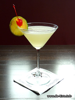 Cocktail des Monats - Absolut Ginger Gimlet - die Kiste - Cocktails und Tapas in Cuxhaven