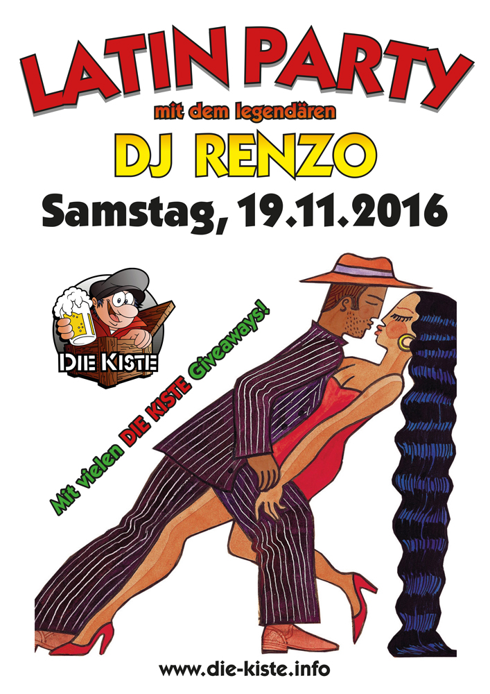 "Latin Party in ""Die Kiste"" in Cuxhaven"