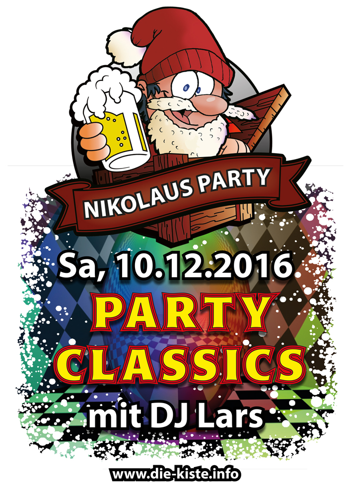 Nikolaus Party am 10.12.2016 in der Kiste in Cuxhaven