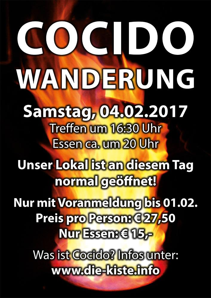 Cocido Wanderung - spanische Grünkohlwanderung