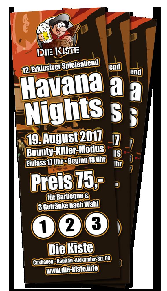 Spieleabend in der Die Kiste in Cuxhaven