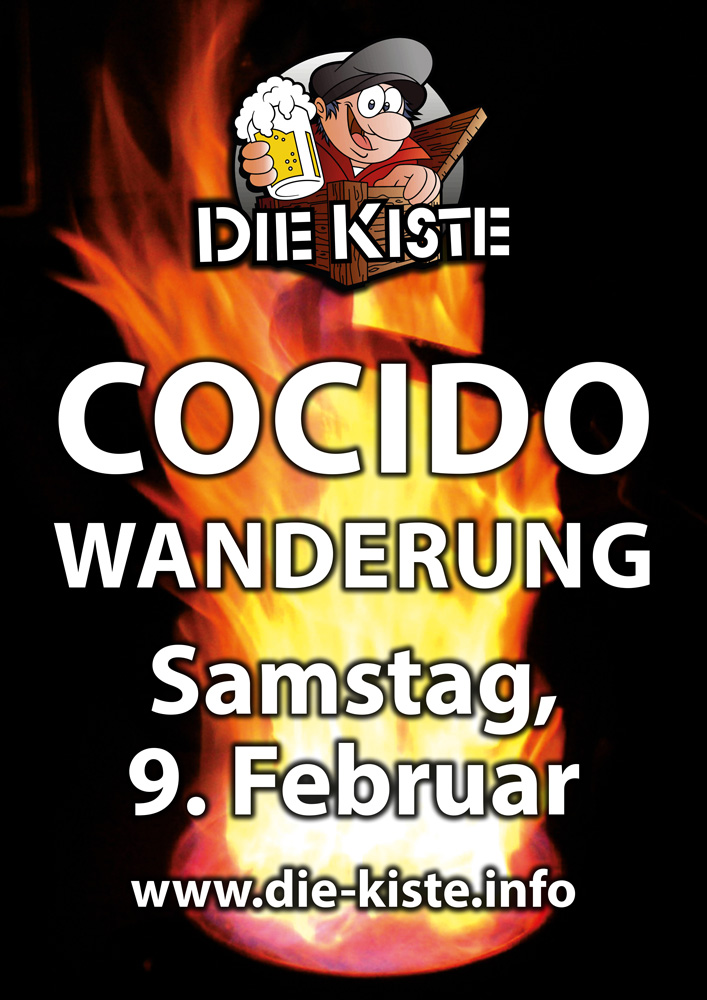Kiste Cocido Wanderung am 9. Februar 2019 in Cuxhaven