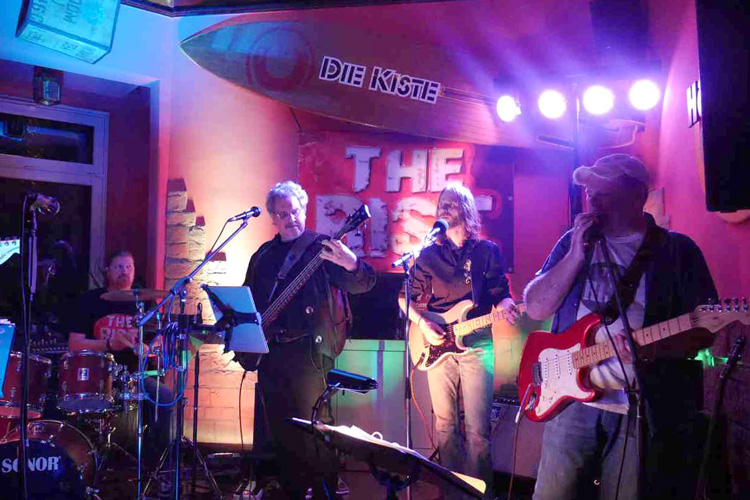 The RISC - Livemusik am 23.03.2019 in der Cocktailbar Die Kiste in Cuxhaven