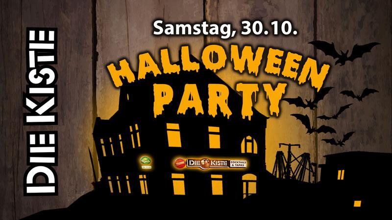 Halloween Party am Samstag, 31.10.2021 in der DIE KISTE in Cuxhaven
